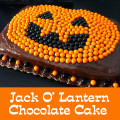 Easy Jack O Lantern Chocolate Cake The Best Buttercream Frosting