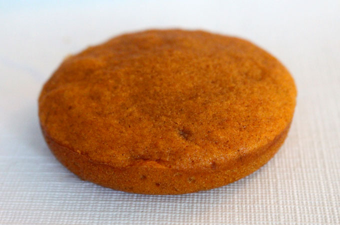 Pumpkin Mini Cake out of the oven