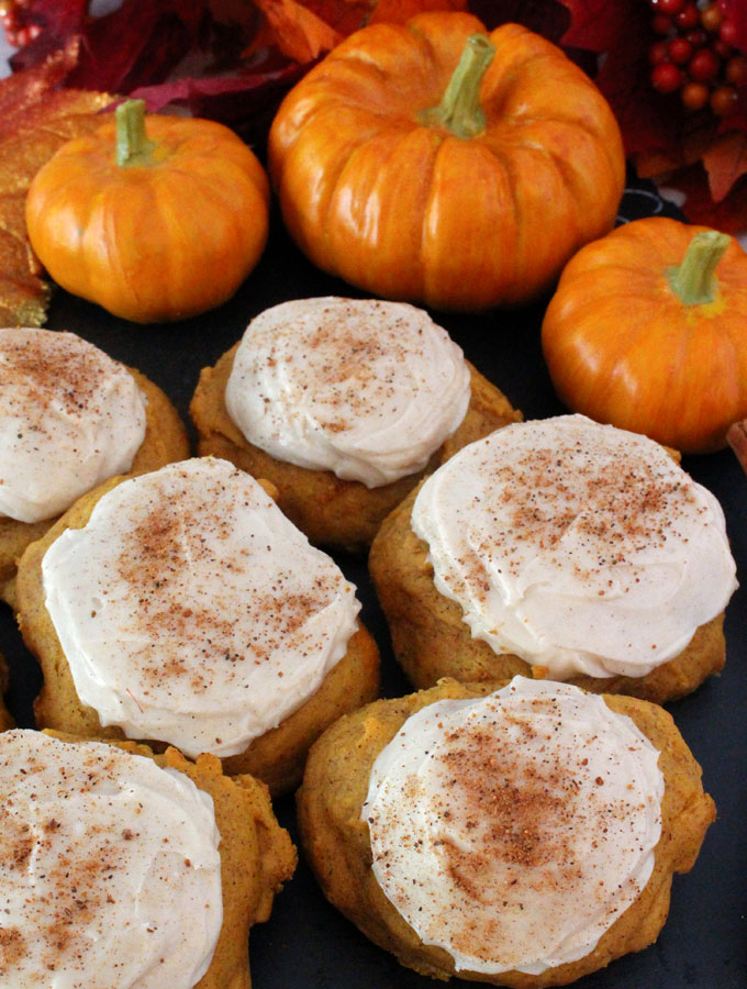 Pumpkin Cookies With Spice Cake Mix