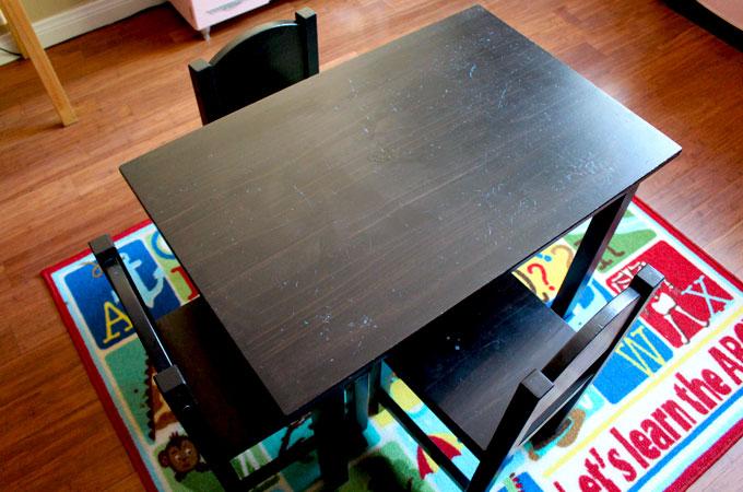 DIY Kid 39 S Homework Desk Ikea Hack Two Sisters Crafting