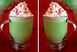 Grinch Hot Vanilla Milk