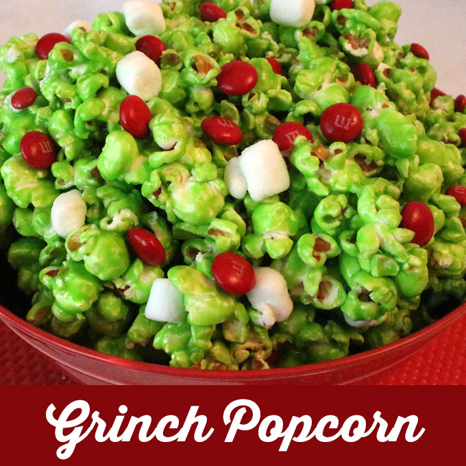 Grinch Popcorn Two Sisters Crafting