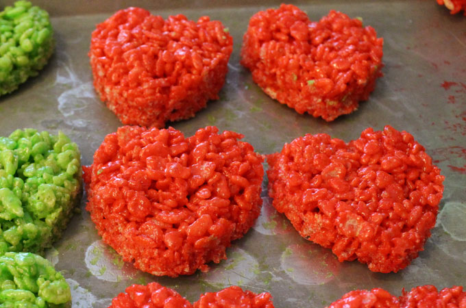 Red Grinch Hearts