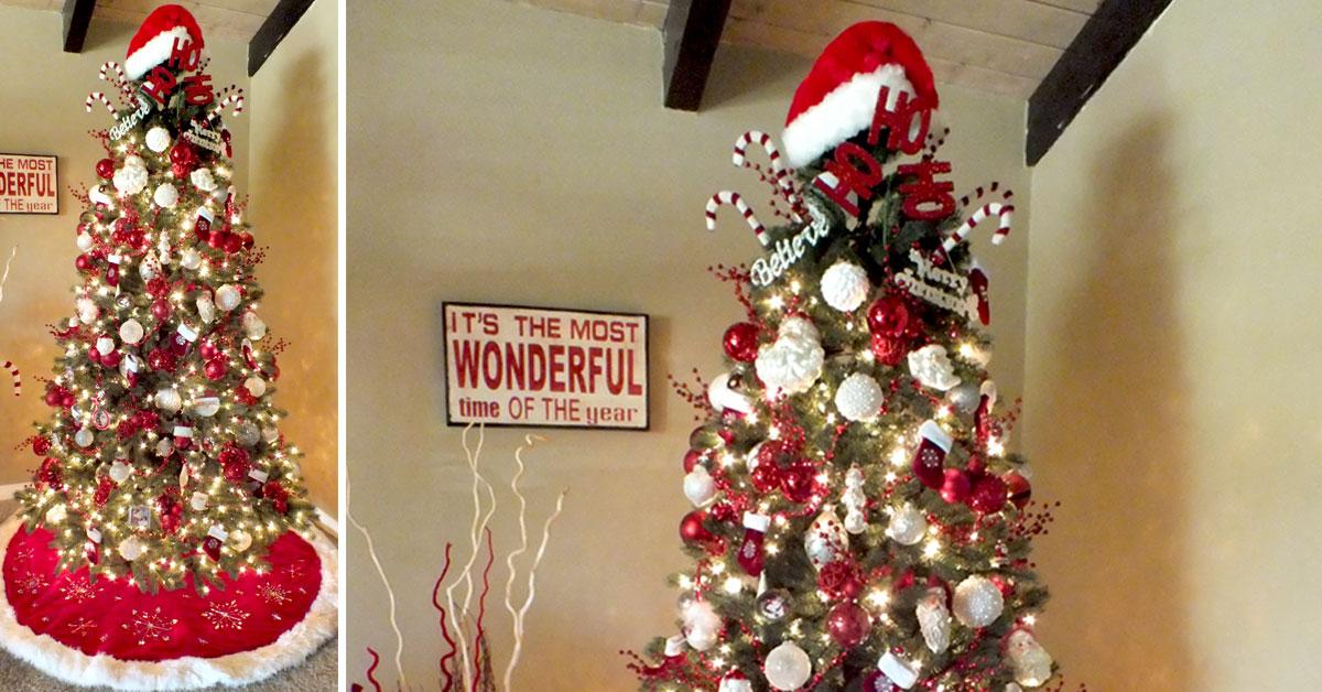 santa christmas tree two sisters
