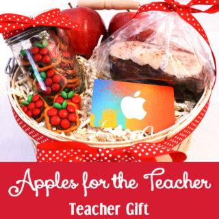 Apples for the Teacher Gift Basket