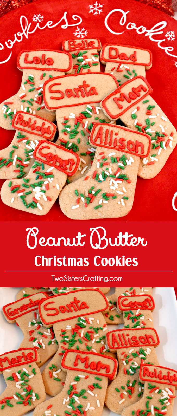 Peanut butter christmas cookies recipe