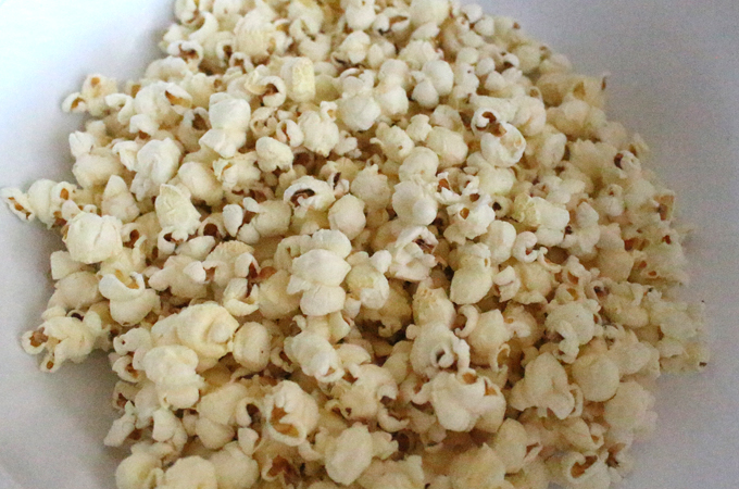 Stove Popped Popcorn