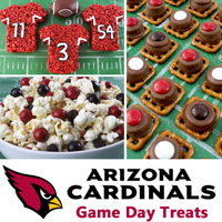 Arizona Cardinals Game Day Treats