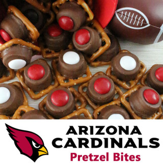 Arizona Cardinals Pretzel Bites