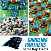 Carolina Panthers Game Day Treats