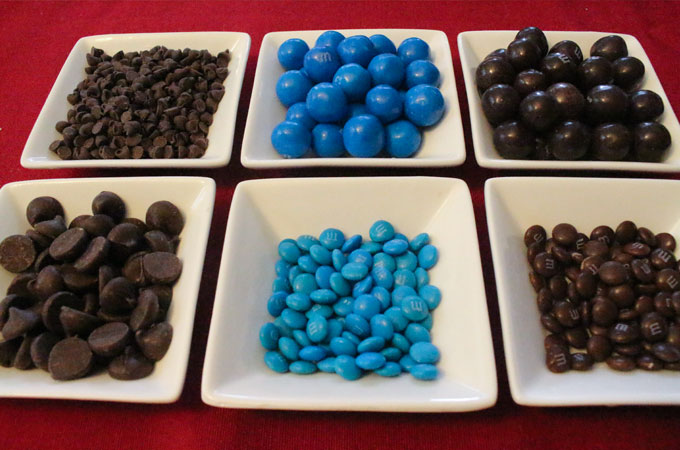 Candy for the Carolina Panthers Popcorn