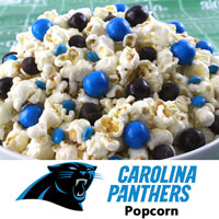 Carolina Panthers Popcorn