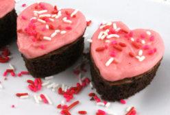 Chocolate Hearts Cake Bites