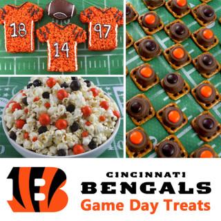 Cincinnati Bengals Game Day Treats