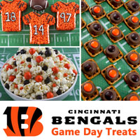 Cincinnati Bengals Game Day Treats