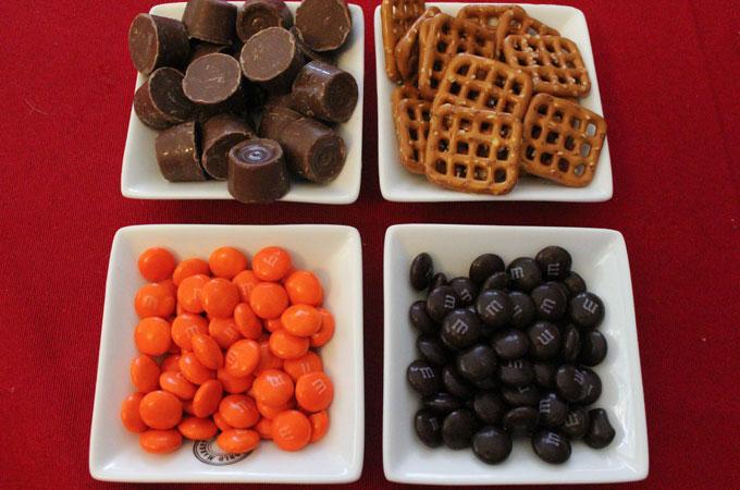 Ingredients for Cincinnati Bengals Pretzel Bites