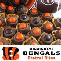 Cincinnati Bengals Pretzel Bites