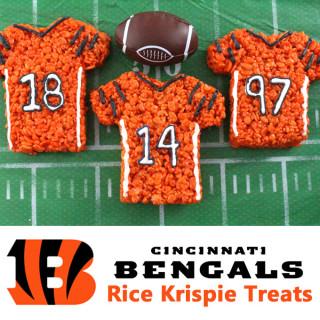 Cincinnati Bengals Rice Krispie Treats