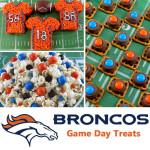 Denver Broncos Game Day Treats