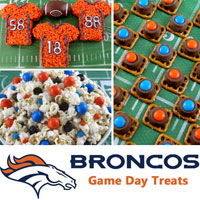 Denver Broncos Game Day Treats