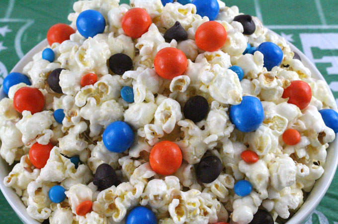 Denver Broncos Popcorn Two Sisters