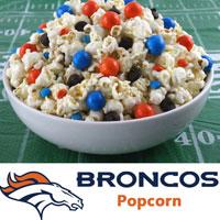 Denver Broncos Popcorn
