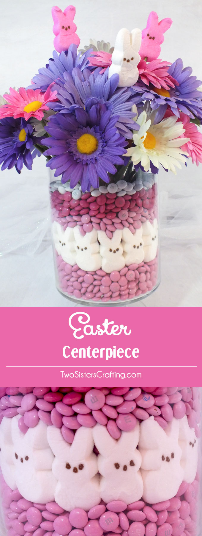 Easter centerpiece two sisters