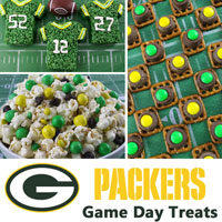 Green Bay Packers Game Day Treats