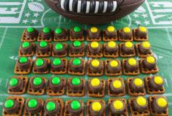 Green Bay Packers Pretzel Bites