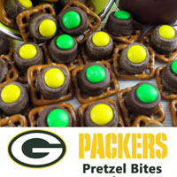 Green Bay Packers Pretzel Bites