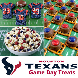 Houston Texans Game Day Treats