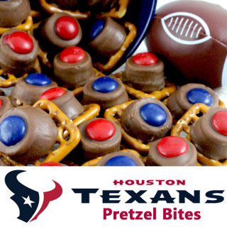 Houston Texans Pretzel Bites