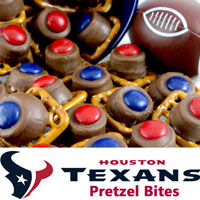 Houston Texans Pretzel Birtes