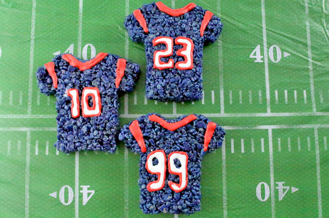 sale retailer 5b3f9 1bad0 Houston Texans Rice Krispie Treats - Two Sisters