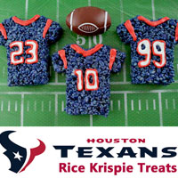 Houston Texans Rice Krispie Treats