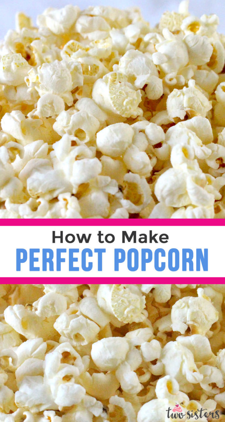 How To Cook Popcorn Perfectly