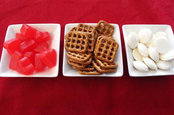 Ingredients for Juju Hearts Pretzel Bites