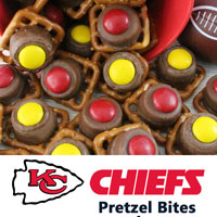 Kansas City Chiefs Pretzel Bites