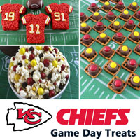 Kansas City Chiefs Game Day Treats