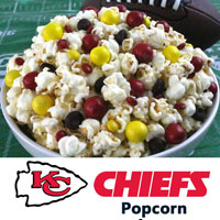 Kansas City City Chiefs Popcorn