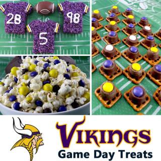 Minnesota Vikings Game Day Treats