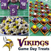 Minnesota Vikings Game Day Treats