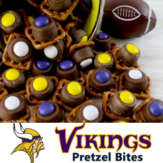 Minnesota Vikings Pretzel Bites