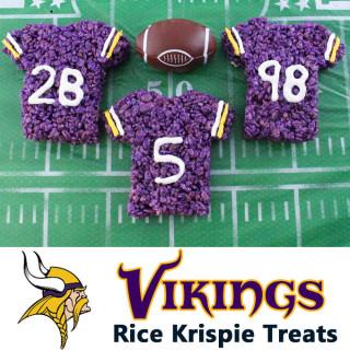 Minnesota Vikings Rice Krispie Treats