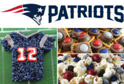 New England Patriots Game Day Treats