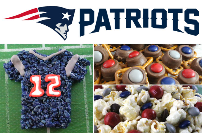 New England Patriots Game Day Treats Two Sisters