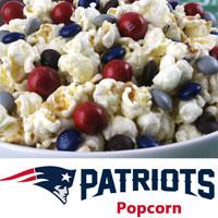 New England Patriots Popcorn