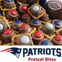 New England Patriots Pretzel Bites