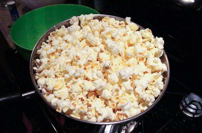 How to Make Perfect Popcorn - Step 5