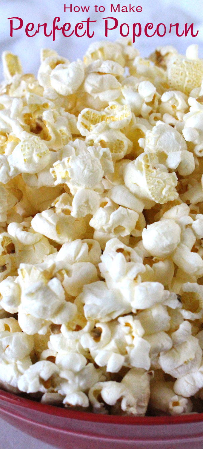 No more Microwave Popcorn! We show you How to Make Perfect Popcorn on ...